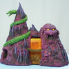Icon Heroes Masters of the Universe Snake Mountain Polystone Statue Video Review & Images