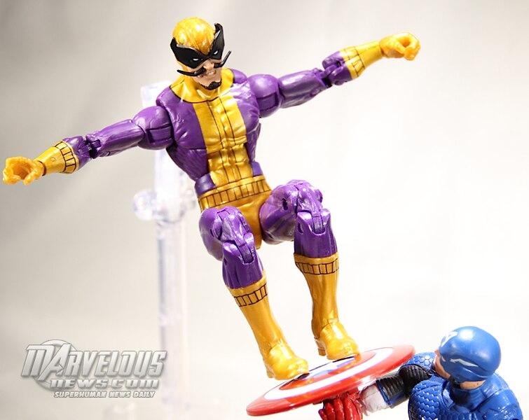 Marvel legends infinite avengers series batroc figure video review
