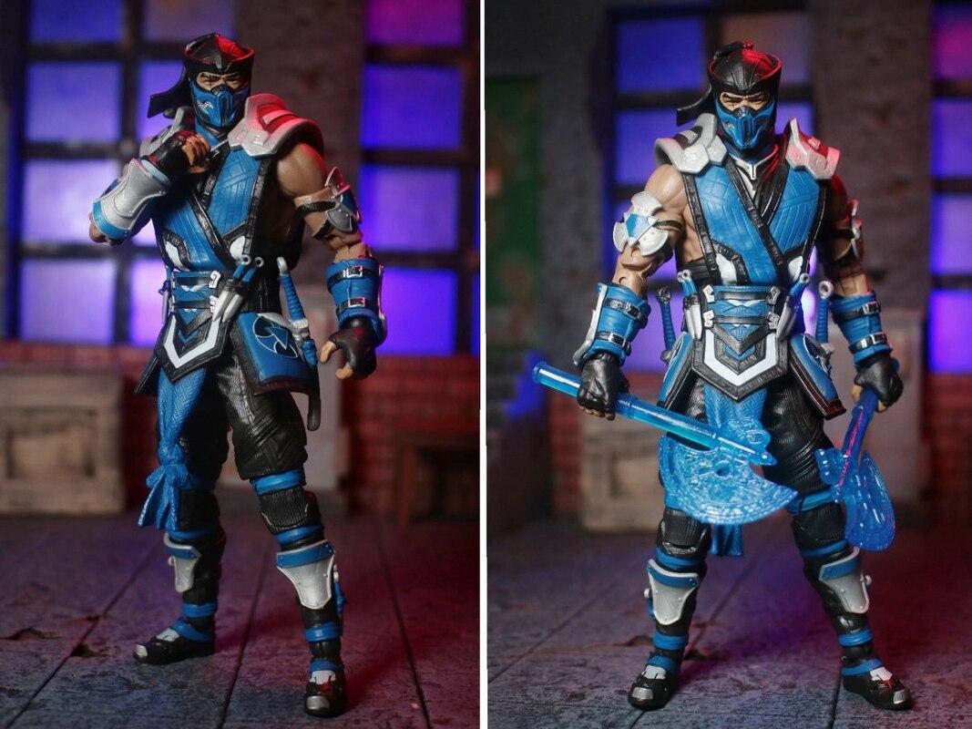 "McFarlane Toys 7"" Mortal Kombat XI Sub-Zero Figure Video ..."
