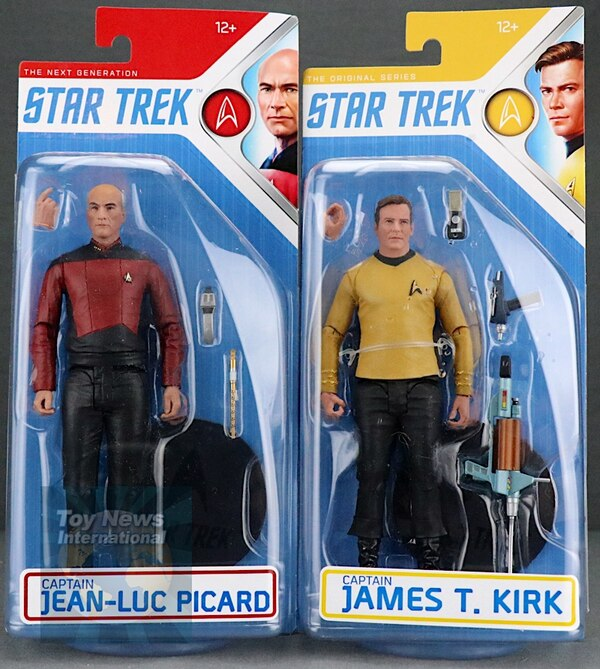 Captain James T STAR TREK TNG Kirk Action Figure McFarlane