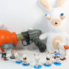 Rabbids Invasion Nickelodeon Toys Plunger Blaster, Blind Bags, Action Figures, and Plush Toy Review