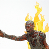The Walking Dead Charred Zombie AMC TV Series 5 Figure Video Review & Images