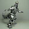 S.H. MonsterArts Millennium 2002 Mechagodzilla Kiryu MFS-3 Figure Review