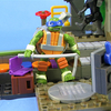 Mega Bloks Teenage Mutant Ninja Turtles Turtle Sewer Lair Playset Video Review & Images