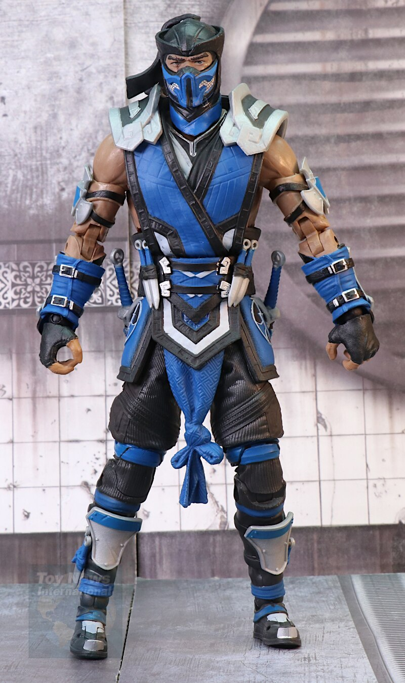 Mortal Kombat 11 Sub Zero And Scorpion 7 Figures Review And