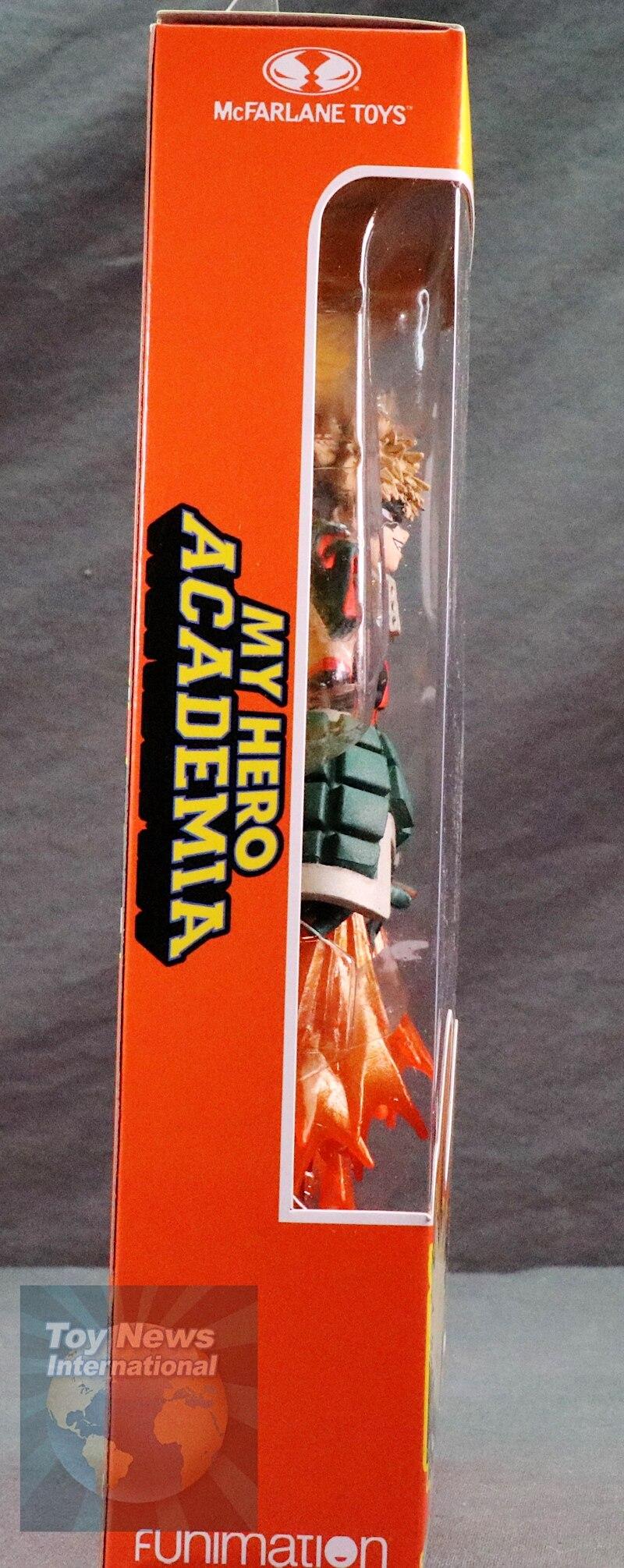 My Hero Academia Mcfarlane Toys Katsuki Bakugo And All Might