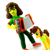 NECA The Simpsons 25 Greatest Guest Stars Weird Al Yankovic Figure Video Review & Images