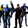 NECA Toys 16-Bit Video Game RoboCop vs The Terminator Figures Video Review & Images