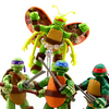 Nickelodeon Teenage Mutant Ninja Turtles Mikey Turflytle Figure Video Review & Images
