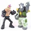 Nickelodeon Teenage Mutant Ninja Turtles Rocksteady & Bebop Basic Figures Video Review & Images