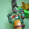 Nickelodeon Teenage Mutant Ninja Turtles Z-Line Ninjas Playsets Video Review & Images