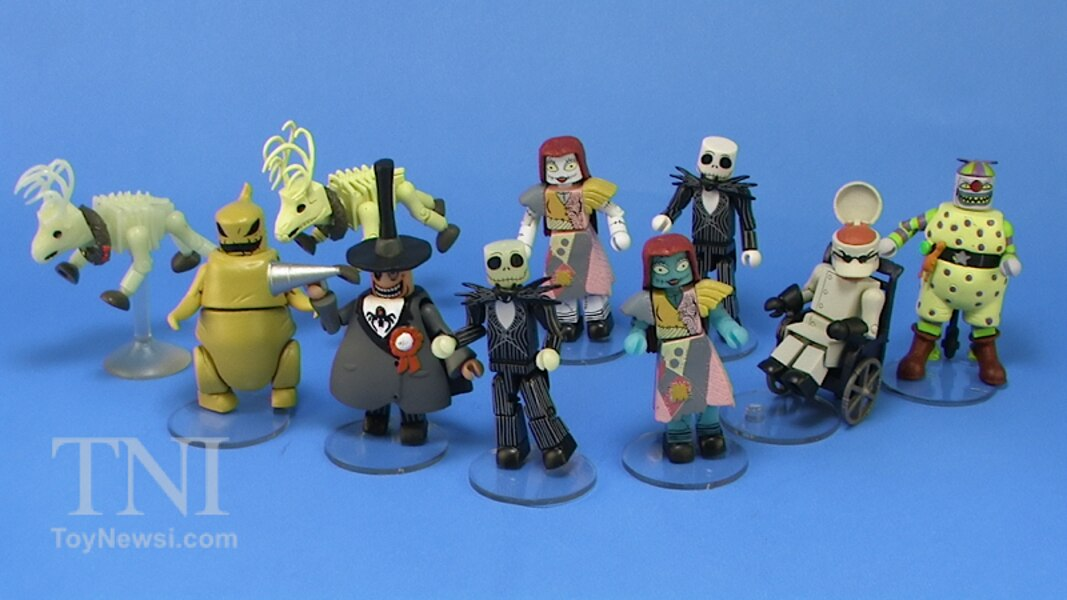Nightmare Before Christmas MiniMates Blind Bag Mini Figures Series 1 ...
