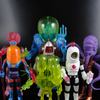 Outer Space Men Series 1 and 2 Infinity Edition 2.0 and 5 and 6 Alpha Phase