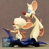 Pinky and The Brain Q-Fig Toons Taking Over The World Figures Video Review & Image Gallery