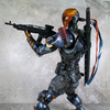 Play Arts Kai Batman: Arkham Origins Deathstroke Figure Video Review & Images