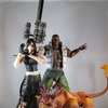 Play-Arts Kai Final Fantasy VII Advent Children Tifa & Barret Video Review & Images