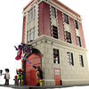 Playmobil Ghostbusters Firehouse Playset Video Review & Image Gallery