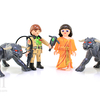 Playmobil Ghostbusters Terror Dogs & Peter Venkman Figure Set Video Review & Image Gallery