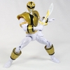 Mighty Morphin Power Rangers Megaforce White Ranger Figure Video Review & Images