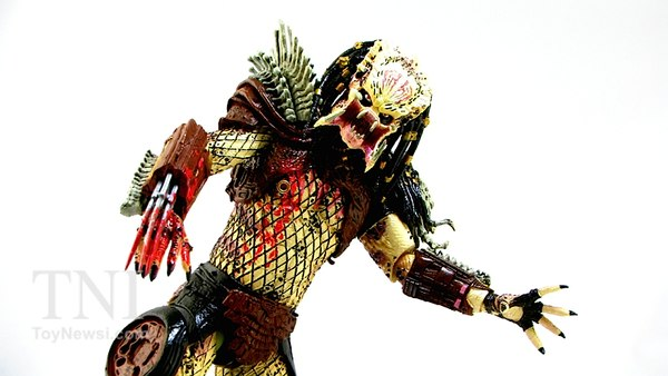 NECA Bad Blood Predator Figure Video Review & Images