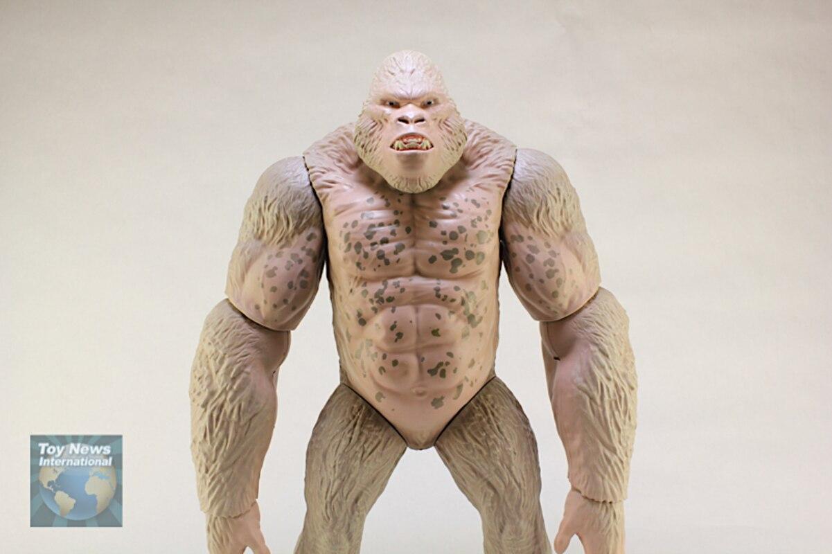 Rampage Movie Walmart Exclusive Mega George Giant Figure Video