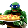 Revoltech Teenage Mutant Ninja Turtles Leonardo Figure Video Review & Images