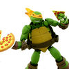 Revoltech Teenage Mutant Ninja Turtles Michelangelo Figure Video Review & Images