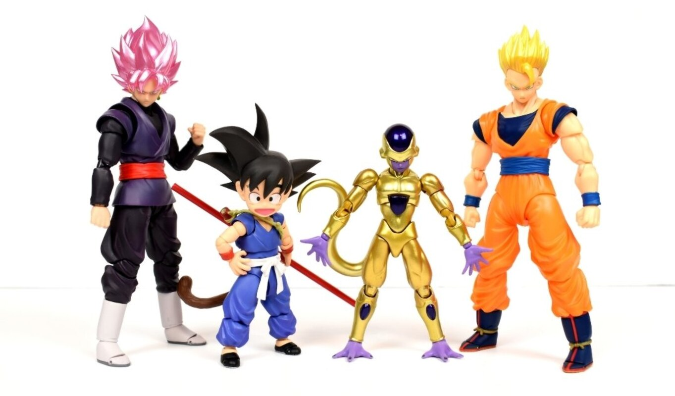 Bandai Dragon Ball S.H.Figuarts Golden Freeza Event Exclusive SDCC Frieza