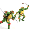 S.H. Figuarts Teenage Mutant Ninja Turtles Michelangelo & Raphael Figures Video Review & Image Gallery