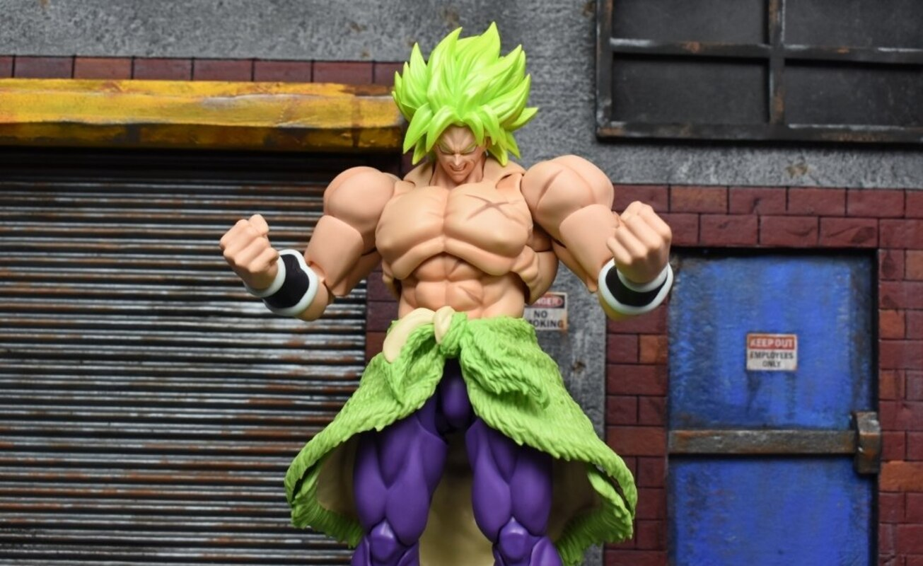 BANDAI S.H.Figuarts Super Saiyan Broly Full Power Dragonball Super Action Figure