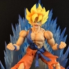S.H. Figuarts DPZ Super Saiyan Goku Awakening Figure Video Review & Images