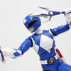 S.H. Figuarts Mighty Morphin Power Rangers Blue Ranger Figure Video Review & Images