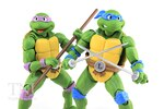 SH Figuarts Teenage Mutant Ninja Turtles Leonardo & Donatello Figures Video Review & Images