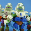 Space Gear Teenage Mutant Ninja Turtles Dimension X Figures Video Review & Images