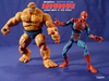 Marvel Super Hero Showdown Starter Pack: Spider-Man Vs. The Thing Toy Review