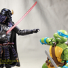 Movie Realization Star Wars Samurai Taisho Darth Vader Figure Video Review & Images
