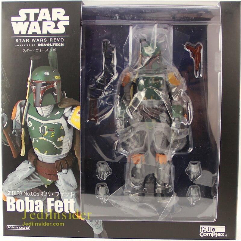 "Star Wars Boba Fett 6/"" Action Figure Kaiyodo Revoltech Series 005 Complex New"