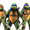 Teenage Mutant Ninja Turtles 1990 Movie 1/4 Leonardo Figure Video Review & Images