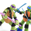 Teenage Mutant Ninja Turtles Nickelodeon Battle Shell Repaints Figures Video Review & Image GALLERY