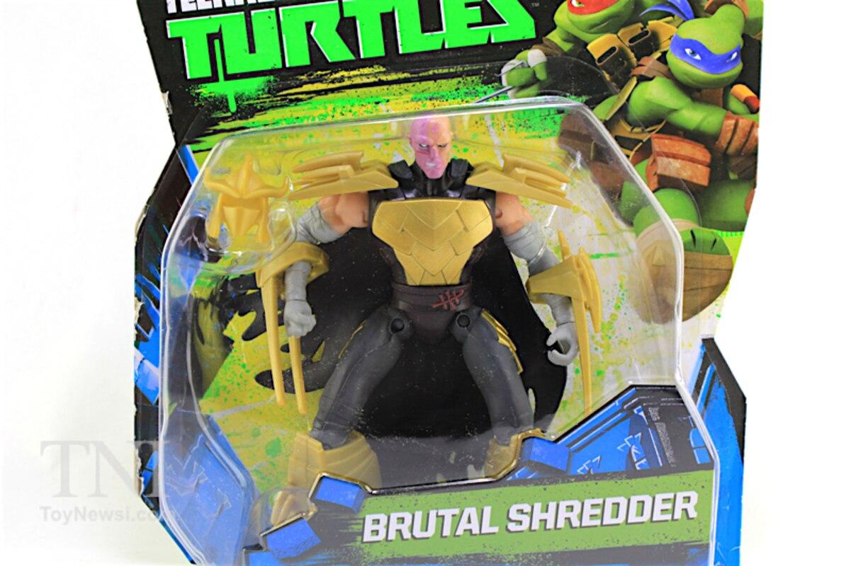 Teenage Mutant Ninja Turtles Shredder Toy : Teenage mutant ninja turtles nickelodeon brutal shredder figure