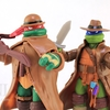 Teenage Mutant Ninja Turtles Monsters and Mutants Raph & Leo Monster Hunter Figures Review & Image Gallery