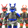 Samurai Teenage Mutant Ninja Turtles Nickelodeon TMNT Figures Video Review & Image Gallery