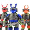 Samurai Teenage Mutant Ninja Turtles Nickelodeon TMNT Figures Video Review & Image Gallery