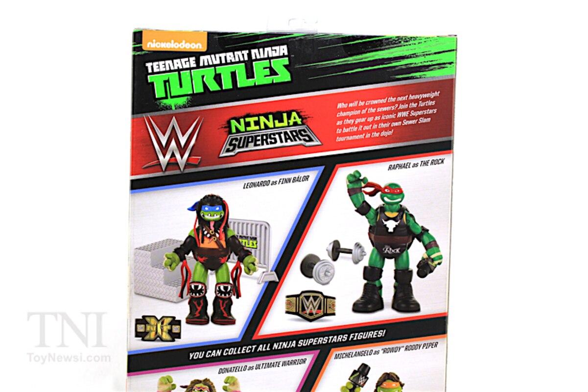 Toys 91893 Teenage Mutant Ninja Turtles Ninja Super Stars Raph as The Rock Figure Playmates