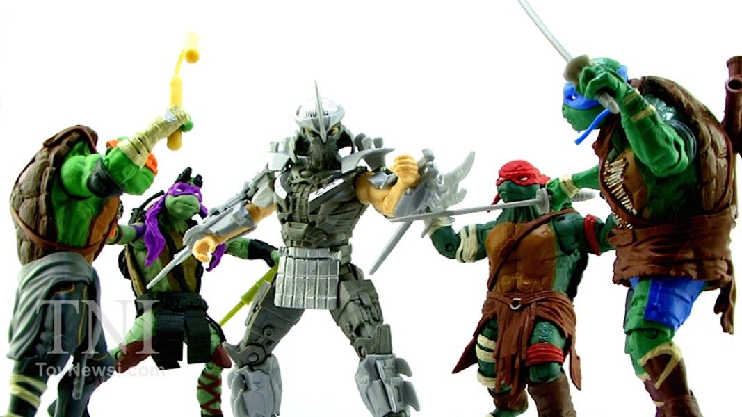 Teenage Mutant Ninja Turtles Shredder Toy : Teenage mutant ninja turtles 2014 movie shredder video review & images