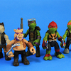 Teenage Mutant Ninja Turtles Out of the Shadows Blind Bags Surprise Mini Figures Opening and Review