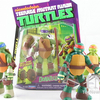 Nickelodeon TMNT Battle Shell Turtles In-Hand Images