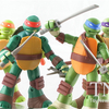 Nickelodeon Teenage Mutant Ninja Turtles Battle Shell Turtles Figures Video Review & Images