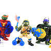 Teenage Mutant Ninja Turtles Classic Super Mikey Super Don Military Leo Figures Review & Images