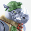 Teenage Mutant Ninja Turtles Classic Collection Rocksteady Figure Video Review & Images